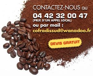 Contact cofradis sud distributeur boissons chaudes