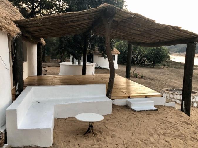 Camp du Faro extérieurs