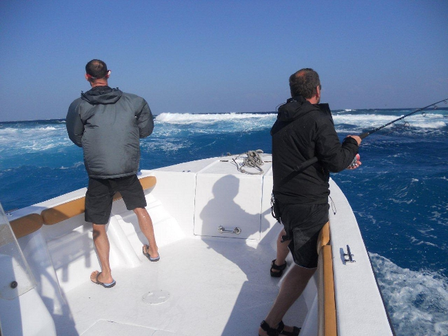 peche en bateau