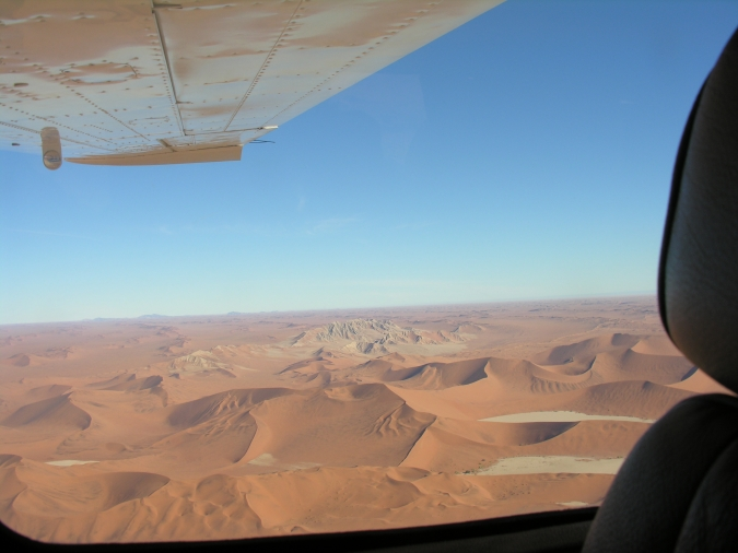 Namibie Fly in Safari